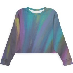 Modern Eco Sweatshirt - Northern Lights by VIDA Original Artist found on Bargain Bro India from SHOPVIDA for $80.00