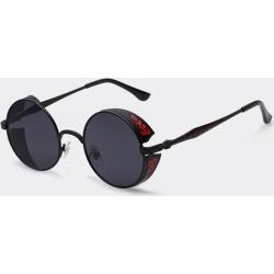 Costbuys  Steampunk Vintage Sunglass Fashion round sunglasses women designer metal carving sun glasses men oculos de sol - C06bl