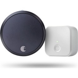 AUGUST HOME SMART LOCK PRO + CONNECT DARK GRAY found on Bargain Bro India from Smart Home for $279.99