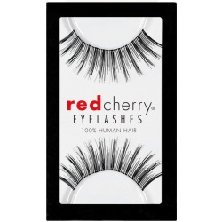 Red Cherry #113 Sabin False Eyelashes, Fake Lashes Black found on Makeup Collection from FalseEyelashes.co.uk for GBP 4.15