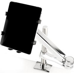 Monitor Mount iPad Holder Black