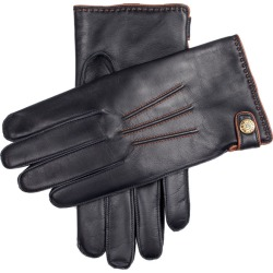 Dents Men's Lambswool Lined Leather Gloves With Stud Tab In Navy/cognac Size 10 found on Bargain Bro UK from Dents