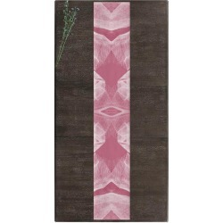 Table Runner - White Veil #2 in Brown/Pink/Red by PRIDE Original Artist found on Bargain Bro India from SHOPVIDA for $55.00