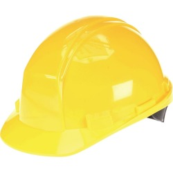 NORTH SAFETY Type II Hard Hat, Ratchet / Yellow