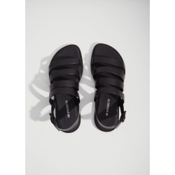 Ann Demeulemeester Leather Slingback Sandals Tucson Nero Size: 40 found on MODAPINS from la garconne for USD $618.00