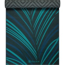 Reversible Geo Feather Yoga Mat (6mm) found on Bargain Bro from Gaiam for USD $26.58