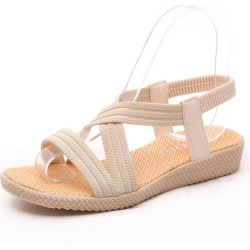 Costbuys  Women sandals Bohemia style female summer sandals - Beige / 6 found on Bargain Bro India from cost buys for $95.99