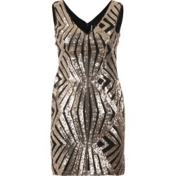 Aztec Plunge Sequin Dress found on Bargain Bro UK from Izabel London UK