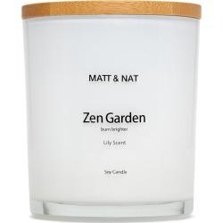 Matt & Nat Zen Soy Candle, White found on Bargain Bro from Matt & Nat for USD $22.80