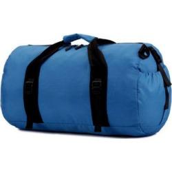 Costbuys  Waterproof outdoor sports shoulder Messenger portable bag basketball folding gym bag - blue
