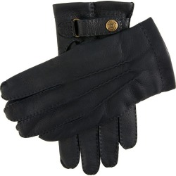 Dents Men's Handsewn Cashmere Lined Deerskin Leather Gloves In Navy Size 8.5 found on Bargain Bro UK from Dents