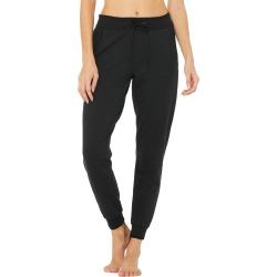 Alo Yoga Journey Sweatpant - Black - Size L - Performance Fabric