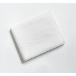 Percale Fitted Sheet - King/Cal King- Essential White - Snowe Home