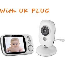 Costbuys  Home Security Baby Monitor 3.2inch Displayer Night Vision Camera Wireless Mini Camera Surveillance Night Vision Camera