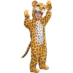 Orange Leopard Jumpsuit Costume Child Toddler found on Bargain Bro Philippines from Toynk Toys for $41.99