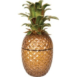 Jay Strongwater Winston Pineapple Jeweled Glass Jar found on Bargain Bro Philippines from Shop Premium Outlets for $4400.00