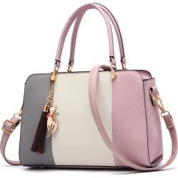 Costbuys  New Shoulder Bag Top Handle Women Handbags Large Capacity Casual Tote Clutch Female Spelt Elegant Fashion Evening Bags