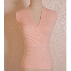 Costbuys  Crop Tops Women Cropped Sexy Summer Women V-neck Tank Tops White Black Pink Blue Sleeveless - pink / One Size found on MODAPINS from cost buys for USD $103.99