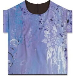 Modern Tee - Purple Reign in Purple by VIDA Original Artist