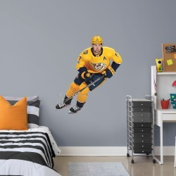 """Filip Forsberg for Nashville Predators - Officially Licensed NHL Removable Wall Decal Giant Athlete + 2 Decals (43""""W x 48""""H) by"""