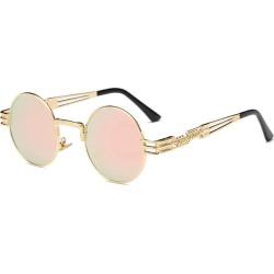 Men Round Sun glass Coating Glasses