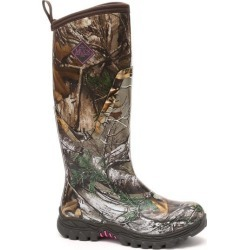 Women's Arctic Hunter Tall - Size 5, 6 & 11 Boot in Bark/Realtree Xtra/Pink | The Original Muck Boot Company