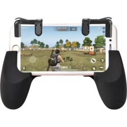 Costbuys  For PUBG Mobile Game Controller Shooter Trigger Fire Button + Handle Holder PUBG Cell Phone Gaming Adapter Accessories
