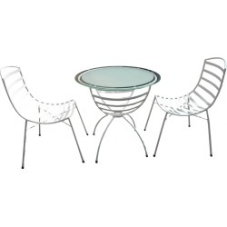 Sarahline 3 Piece Outdoor Setting