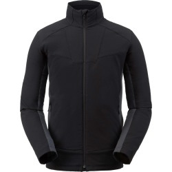 Spyder Men's Ascender Light Fleece Jacket Size Small in Black