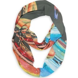 Infinity Eco Scarf - Hot Color Cool Glass by VIDA Original Artist found on Bargain Bro India from SHOPVIDA for $45.00