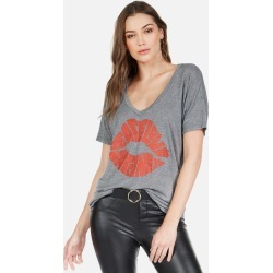 Brixton Happiness Lip - M Heather Grey found on MODAPINS from lauren moshi for USD $81.00