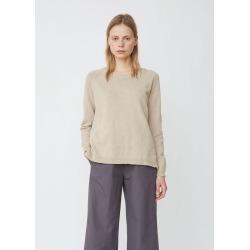 Aspesi Lightweight Cotton-Blend Crewneck Sweater Beige Size: IT 42 found on MODAPINS from la garconne for USD $305.00