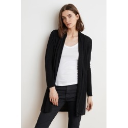 Cherie Lux Cotton Cardigan (XS), Velvet by Graham & Spencer