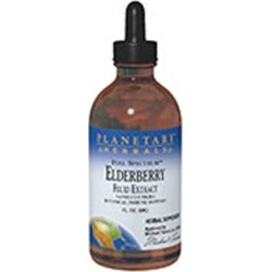 Full Spectrum Elderberry Fluid Extract 8 Fl Oz by Planetary Herbals found on Bargain Bro India from Herbspro - Dynamic for $28.98