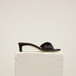 Dear Frances - Twist Mule, Black - Size 38 found on Bargain Bro Philippines from Dear Frances for $320.00