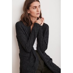 Gamma  Cotton Thermal Duster Cardigan (XS), Velvet by Graham & Spencer