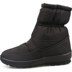 Costbuys  Winter Women Boots Female Waterproof Ankle Boots Down Warm Snow Boots Ladies Shoes Woman Zipper Fur Boots - black / 10