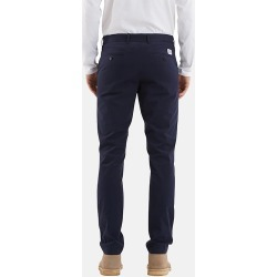 Norse Projects Aros Light Twill Chino (Slim) - Dark Navy Blue found on Bargain Bro UK from URBAN EXCESS LTD: UrbanExcess.com / Article-London.com