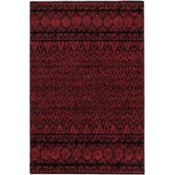 Eclipse Red Cave Rug