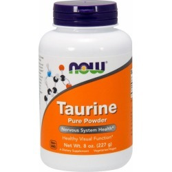 Taurine Pure Powder 8 OZ by Now Foods found on MODAPINS from Herbspro - Dynamic for USD $15.99