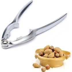 Costbuys  Zinc Alloy Quick Walnut Cracker Nutcracker Sheller Nut Opener Kitchen Accessories Tool - as shown