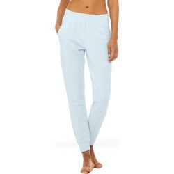 Alo Yoga Unwind Sweatpant - Powder Blue - Size XS - Performance Fabric found on Bargain Bro India from Alo Yoga for $98.00