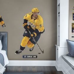 """Roman Josi for Nashville Predators - Officially Licensed NHL Removable Wall Decal Life-Size Athlete + 9 Decals (48""""W x 75""""H) by"""