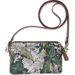 Statement Clutch - Dark Abstract Jungle by Always Seek Original Artist