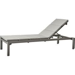 Relax Sunbed Light Grey