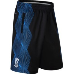 Costbuys  design stripe training basketball running kyrie irving sport shorts loose half length plus size with double pocket - B