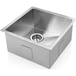 Stainless Steel Kitchen/Laundry Sink found on Bargain Bro from Simply Wholesale for USD $93.70