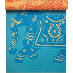 Reversible Elephant Yoga Mat (6mm) found on Bargain Bro from Gaiam for USD $26.58