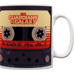 Official Marvel Guardians of The Galaxy Awesome Mix Vol.1 Mug found on Bargain Bro UK from yellow bulldog