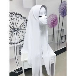 Costbuys  chiffon muslim hijabs scarf fashion headscarf voile musulman solid bonnet hijab - TJ71002 / One Size
